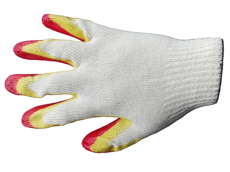 Перчатки х/б с двойным латексным покрытием (2-й облив) 13 кл.