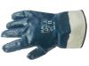 Перчатки нитриловые полный облив (крага)