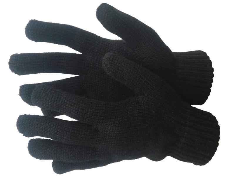 Перчатки трикотажные полушерстяные двойные 7,5 класс