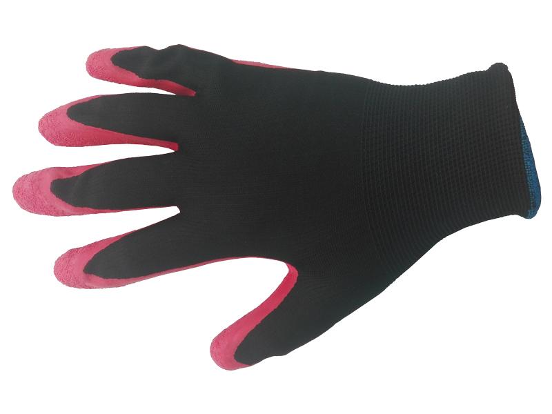Перчатки нейлоновые со вспененным латексным покрытием 13 класс