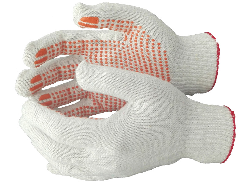 Перчатки 4-нитка 10 класс ПВХ
