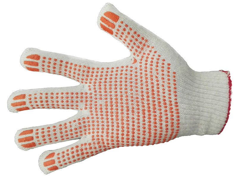 Перчатки 4-нитка 7,5 класс ПВХ