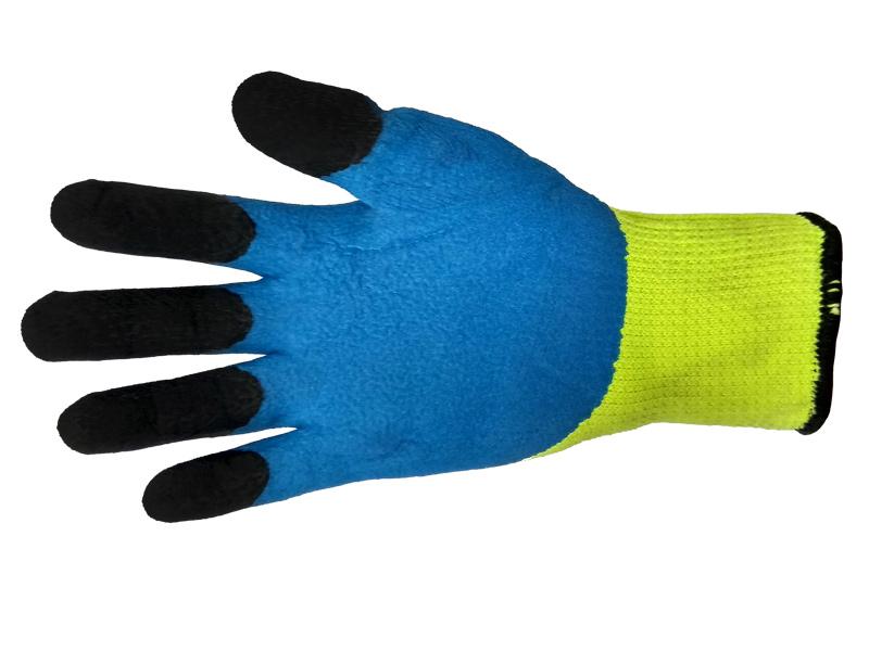 Перчатки акриловые со вспененным латексом «Ноготки»