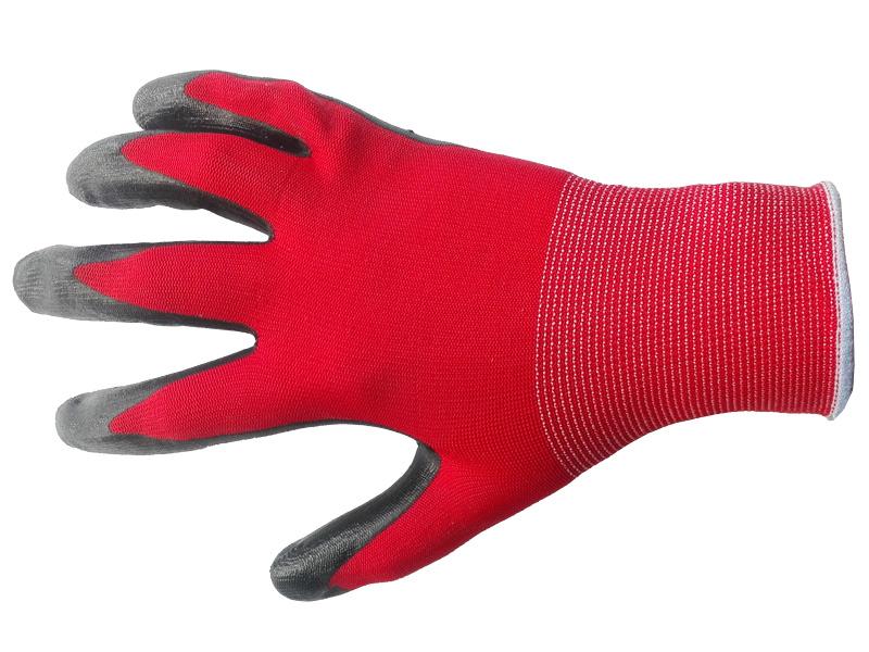 Перчатки нейлоновые с нитриловым покрытием Эконом 13 класс