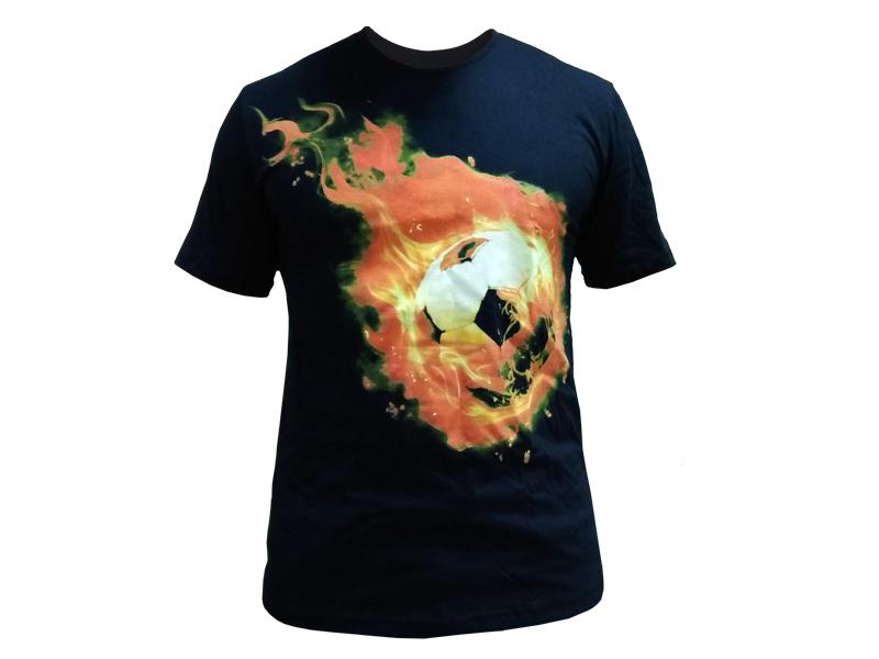 """Футболка """"Огненный мяч"""""""
