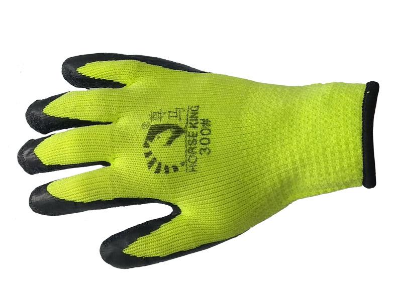 Перчатки акриловые с рельефным латексным покрытием Люкс (Китай)