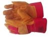 Перчатки спилковые комбинированные «Русские львы»