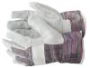 Перчатки спилковые комбинированные летние