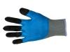 Перчатки нейлоновые с двойным вспененным латексным покрытием